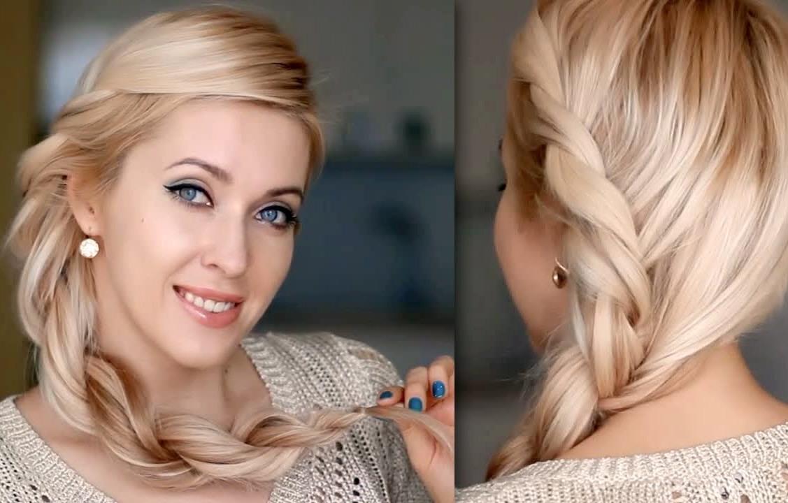 Коса в стиле Рианны на длинные волосы – мастер-класс