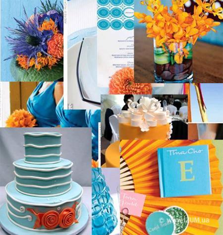 Оранжевая свадьба – модные тенденции